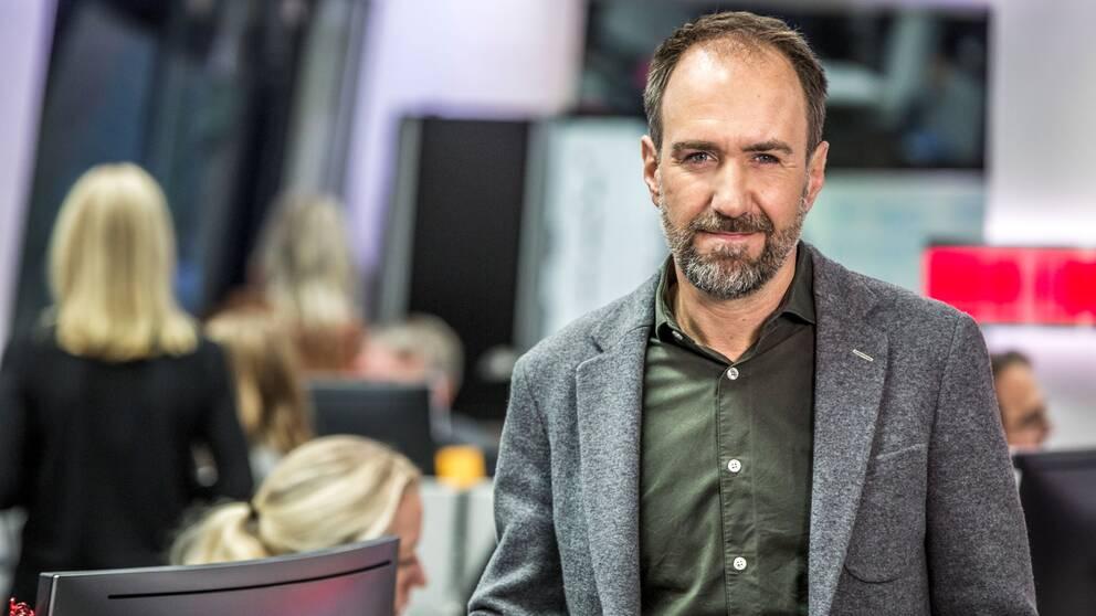 Nyhetschefen för SVT Nyheter Online, Michael Kucera