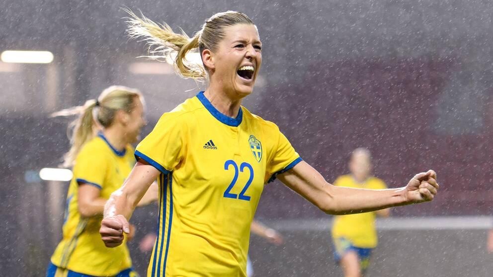 Sveriges Olivia Schough.