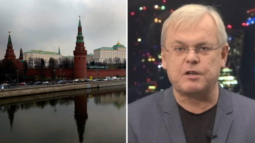 SVT:s korrespondent Bert Sundström