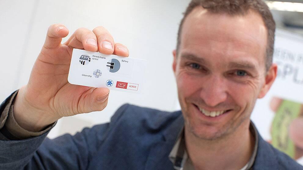 Magnus Berggren, professor i organisk elektronik Linköpings universitet.