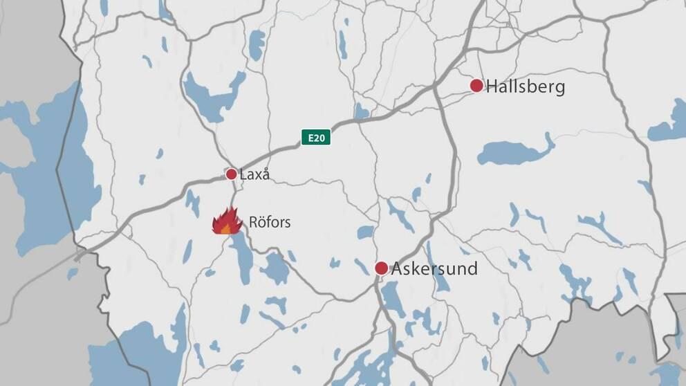 Fräscha Ny brand i pelletsfabrik | SVT Nyheter JO-91