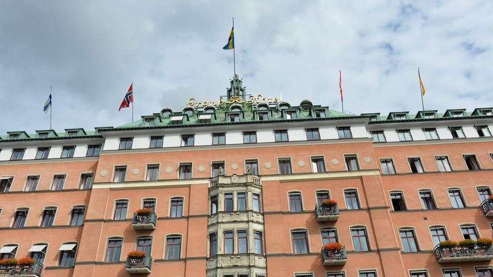 Grand Hôtel i Stockholm.
