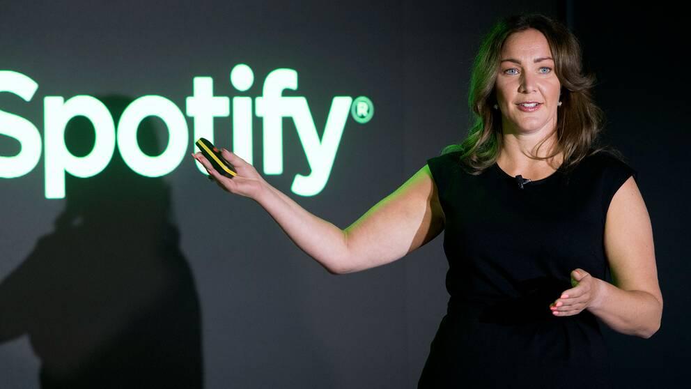 Jenny Hermanson, Spotifys nordiska vd.