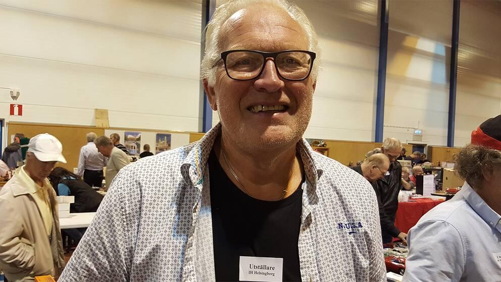 Rolf Maier, leksakssamlare.