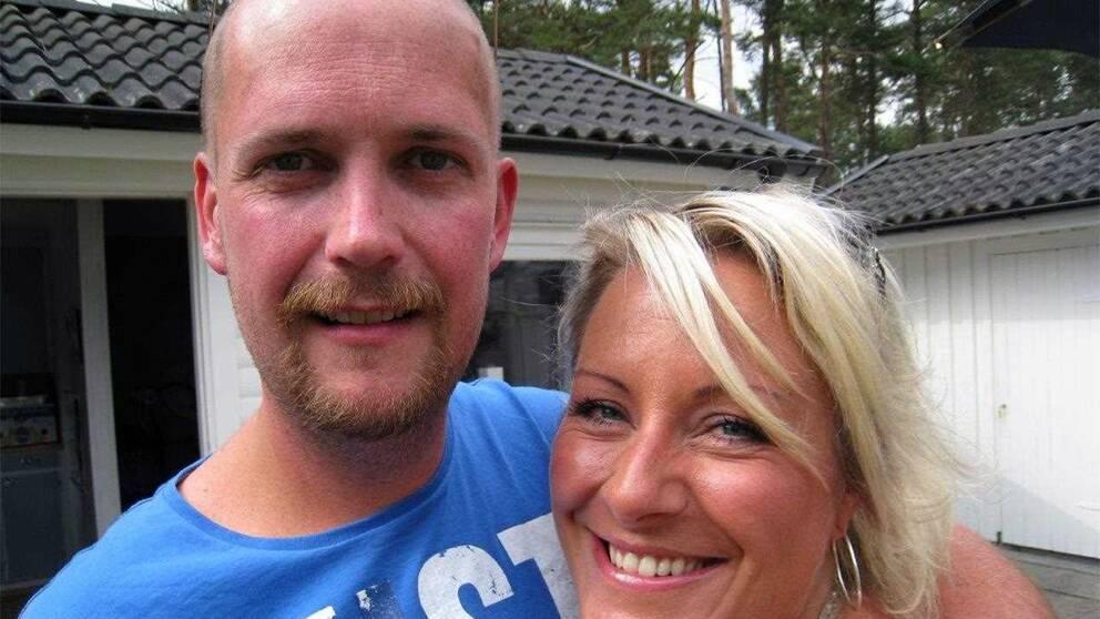 Marcus Idoffson med hustrun Lotta. Paret fick under 2000-talet ny fart på orkesterns karriär.