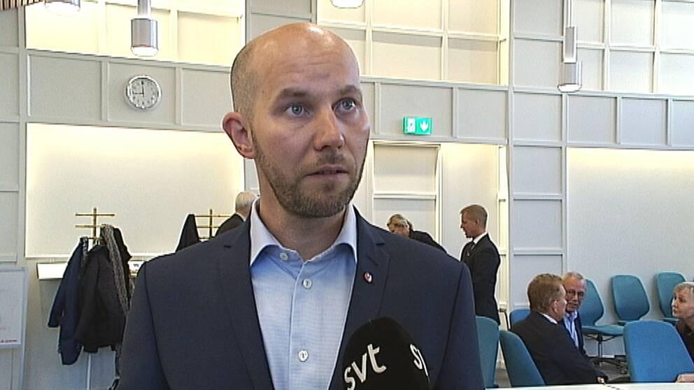 Claes Nordmark (S), tillträdande kommunalråd Boden