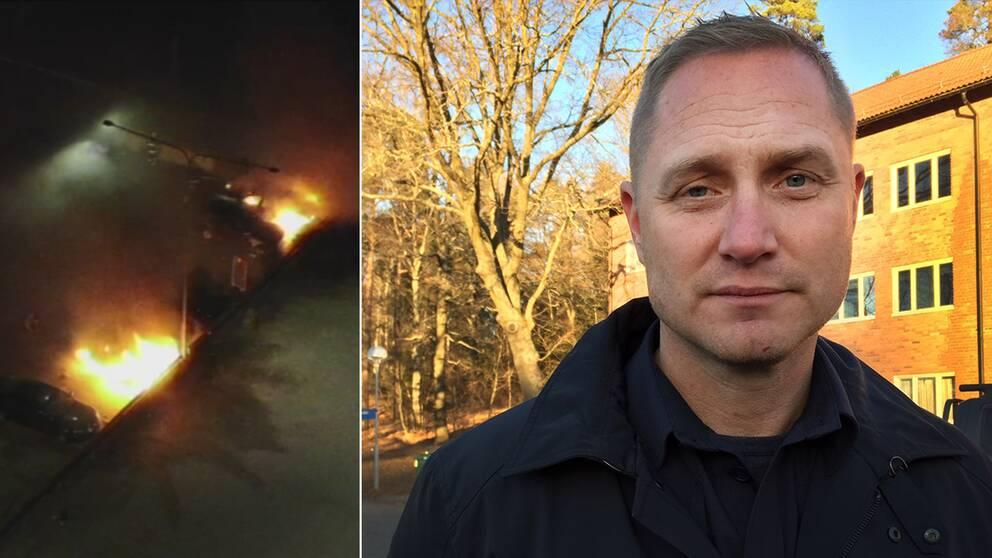 Bild på Niclas Andersson, lokalpolisområdeschef Järva.