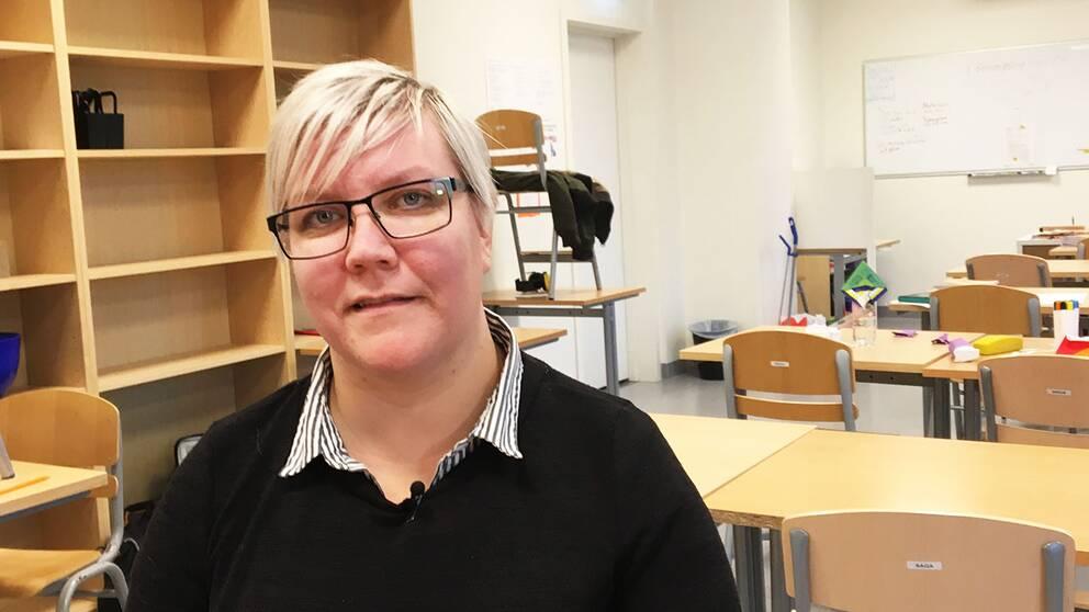 styrelseordförande Hannele Oikarinen friskolan Intermilia i Motala