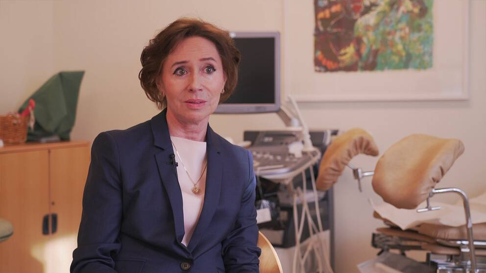 Angelica Lindén Hirschberg är professor i Gynekologi. Hon menar att många kvinnor är rädda för östrogenbehandling i onödan.