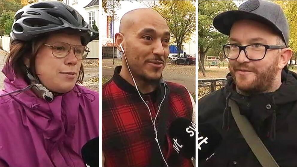 Så här säger cyklister på stan till oss på SVT om sabotagen