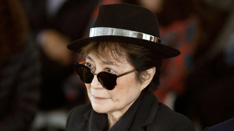 """Yoko Ono inspirerade John Lennon till låten """"Imagine""""."""