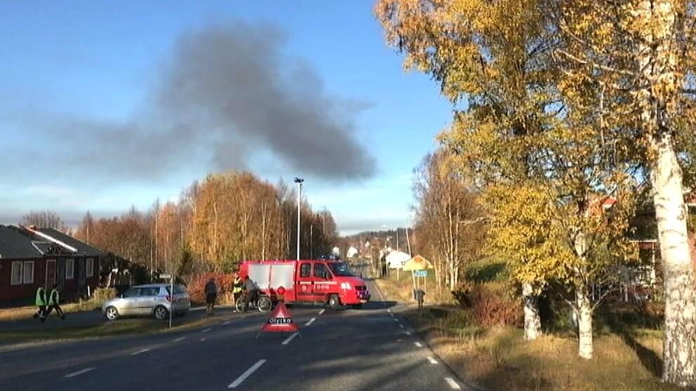 Storbrand i Solberg