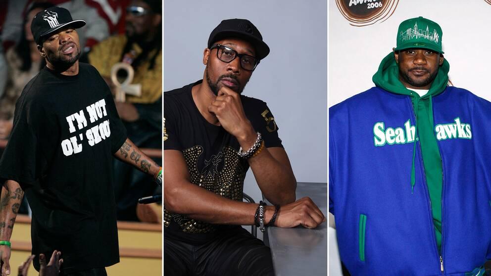 Wu-tang clan-medlemmarna Method Man, RZA och Ghostface kommer alla att medverka i produktionen av den nya tv-serien.