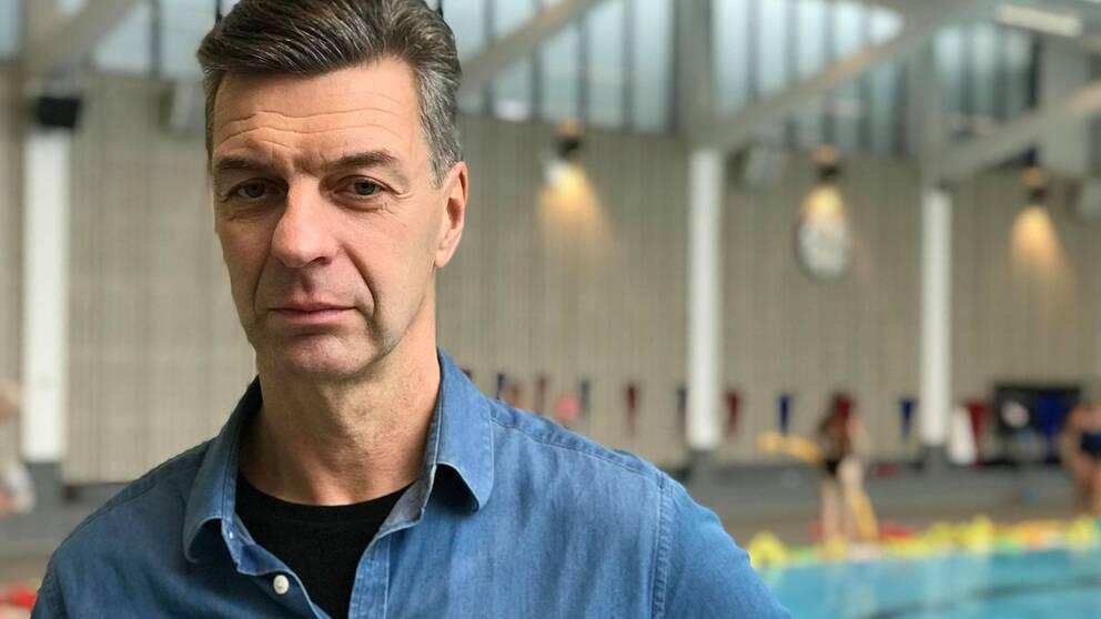 Robert Sköld, avdelningschef på idrottsförvaltningen