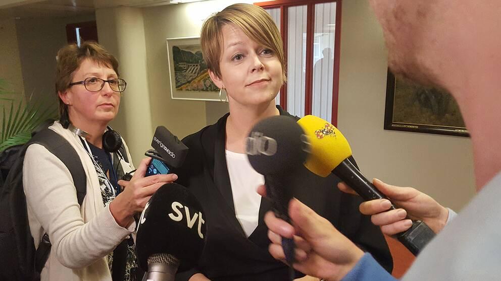 Katrin Stjernfedt Jammeh (S).