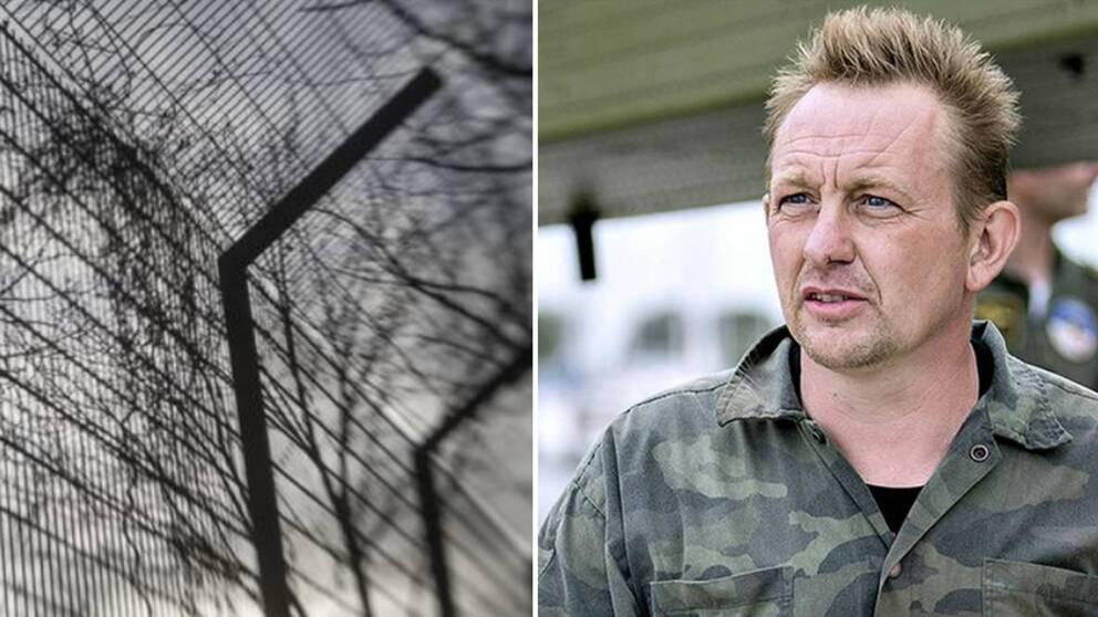 Kim Walls mördare Peter Madsen.