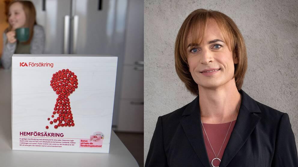 Caroline Farberger, vd på ICA Försäkring