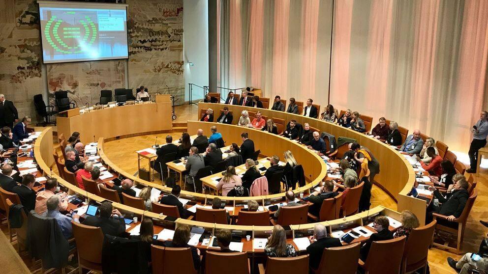 Valfullmäktige, Region Västmanland, regionfullmäktige
