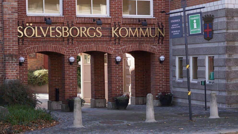 Sölvesborg, kommunhus, Sölvesborgs kommun