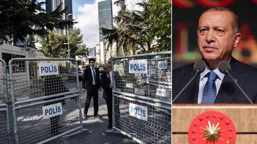 Turkiet utlovar sanningen om khashoggis dod