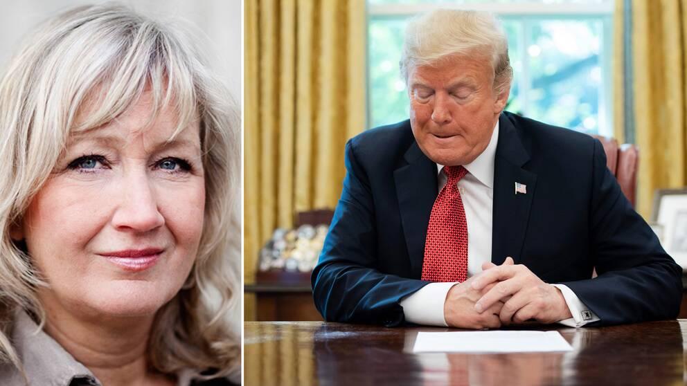 SVT Nyheters Erika Bjerström på plats i USA noterar hur fallet Kashoggi allt mer kommit att handla om president Trumps eventuella inblandning i det hela.
