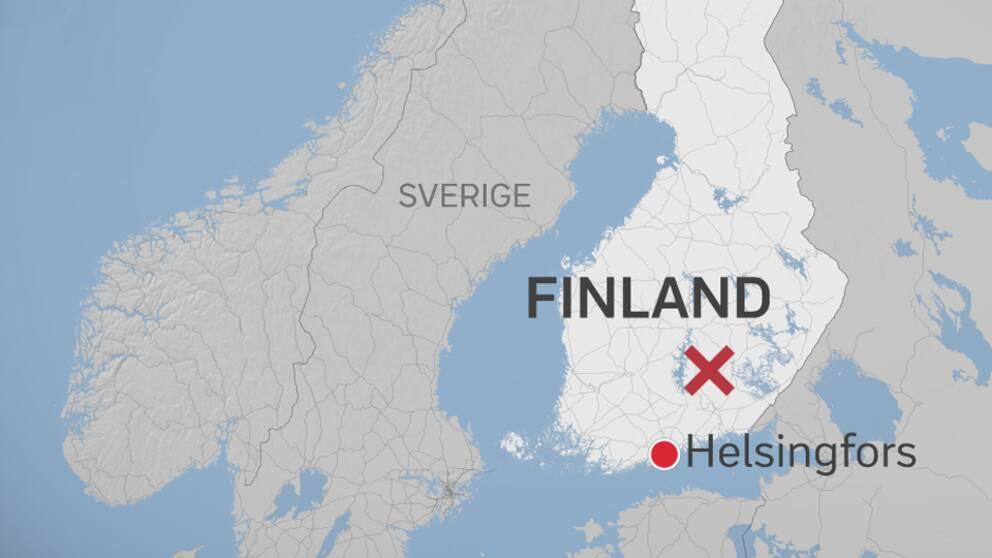 Svensk atalas for drap i finland