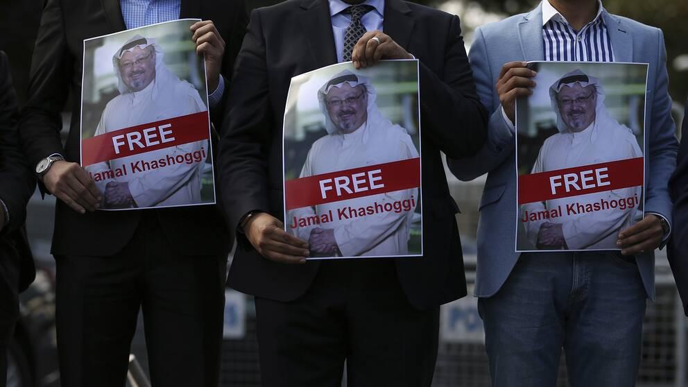 Den saudiske journalisten Jamal Khashoggi.
