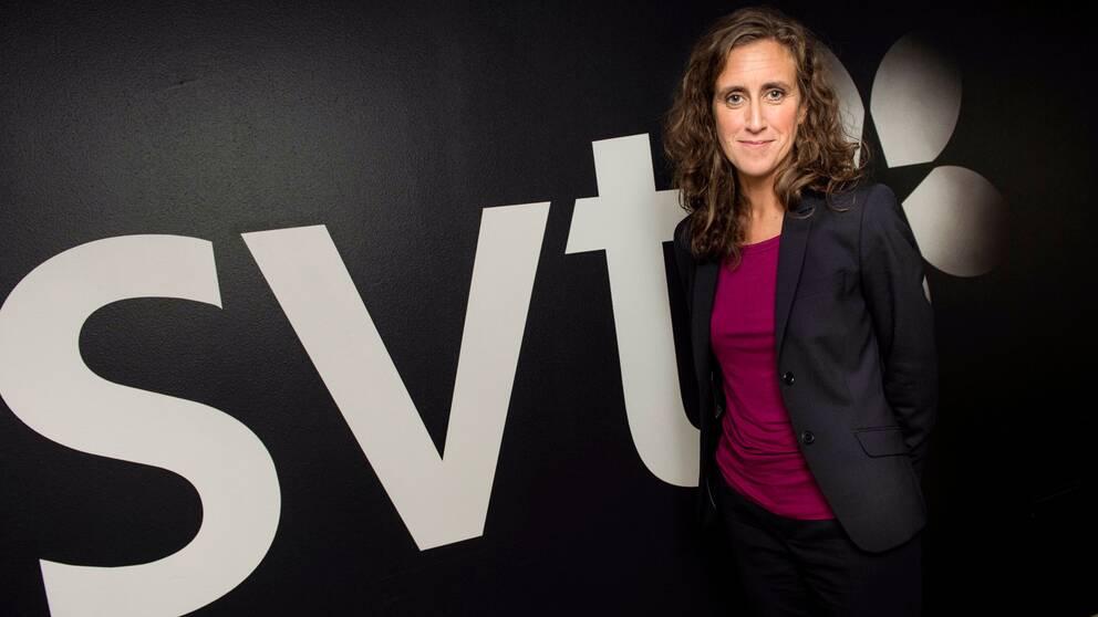 SVT:s vd Hanna Stjärne