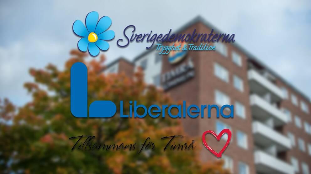Timråpartiet och Liberalerna går samman med Sverigedemokraterna