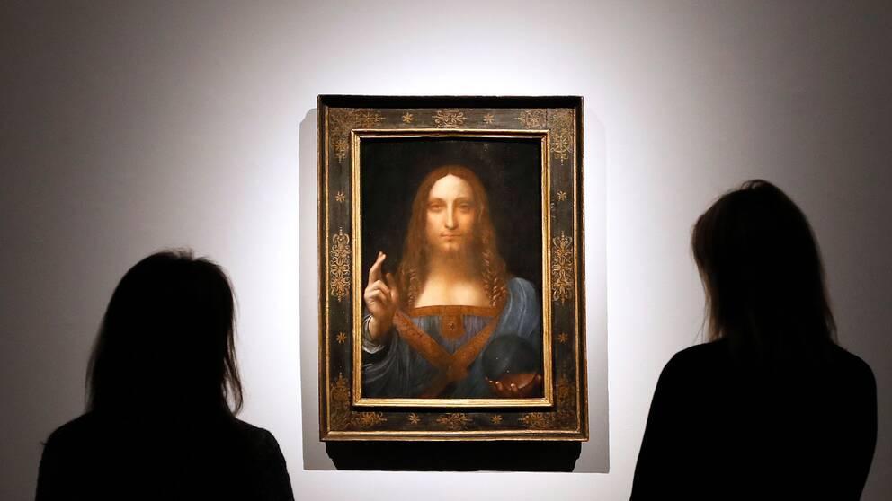 """Leonardo da Vincis """"Salvator Mundi""""."""