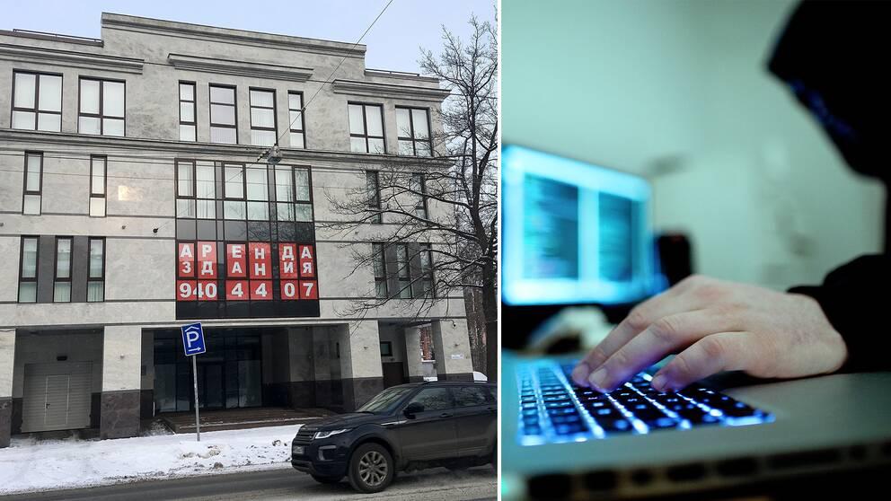 """Trollfabrik"" i St Petersburg."