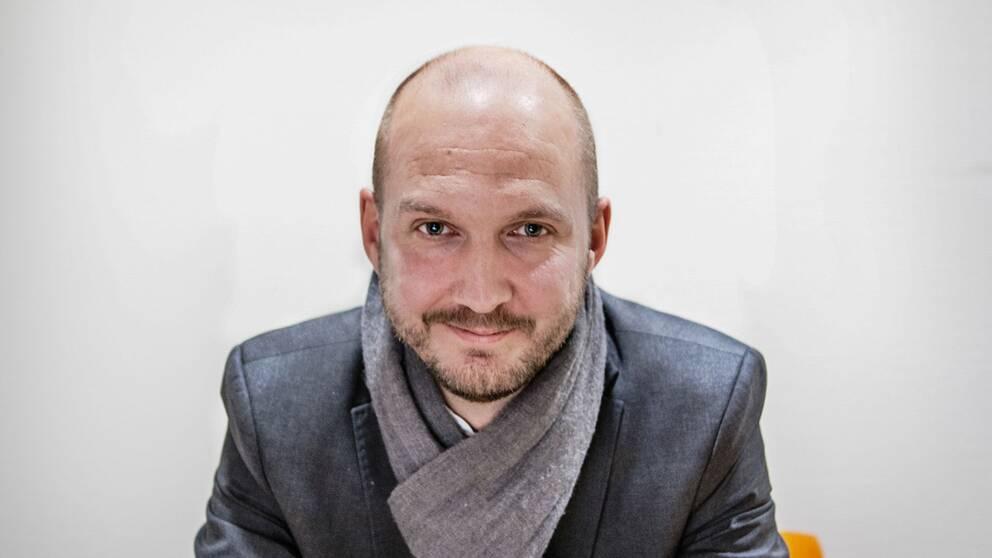 Jonathan Lundqvist, ordförande för Reportrar utan gränser.