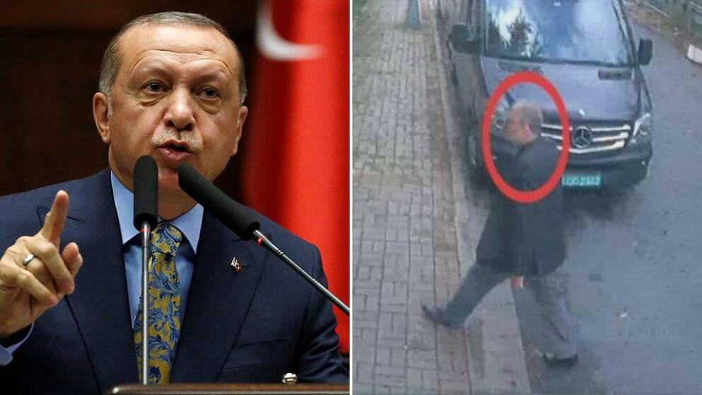 """Erdogan: """"Mordet på Khashoggi var planerat"""""""