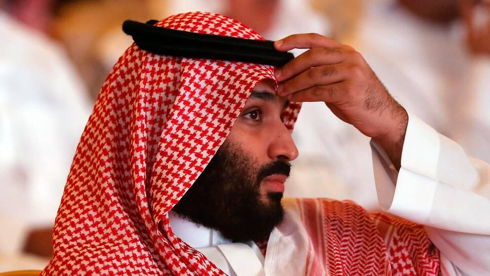 Saudiarabiens kronprins Mohammed bin Salman