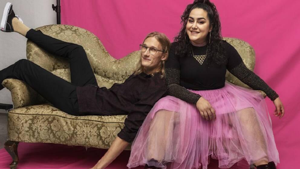 Tina Mehrafzoon och Marcus Berggren leder P3 Guld 2019.