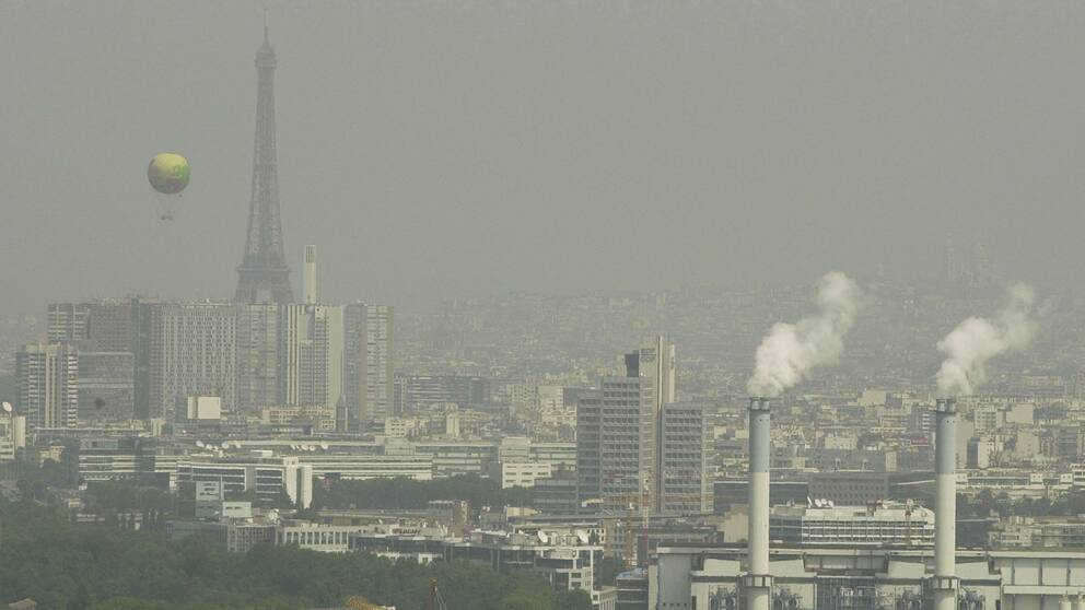 Smog i Paris