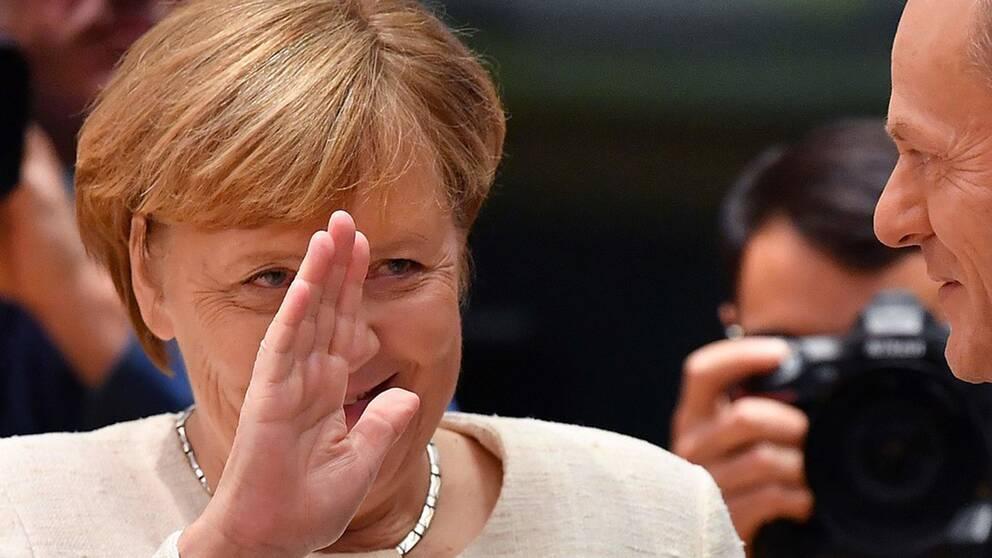 Angela Merkel försökte få med De Gröna i en regering 2017 tillsammans med liberalerna.