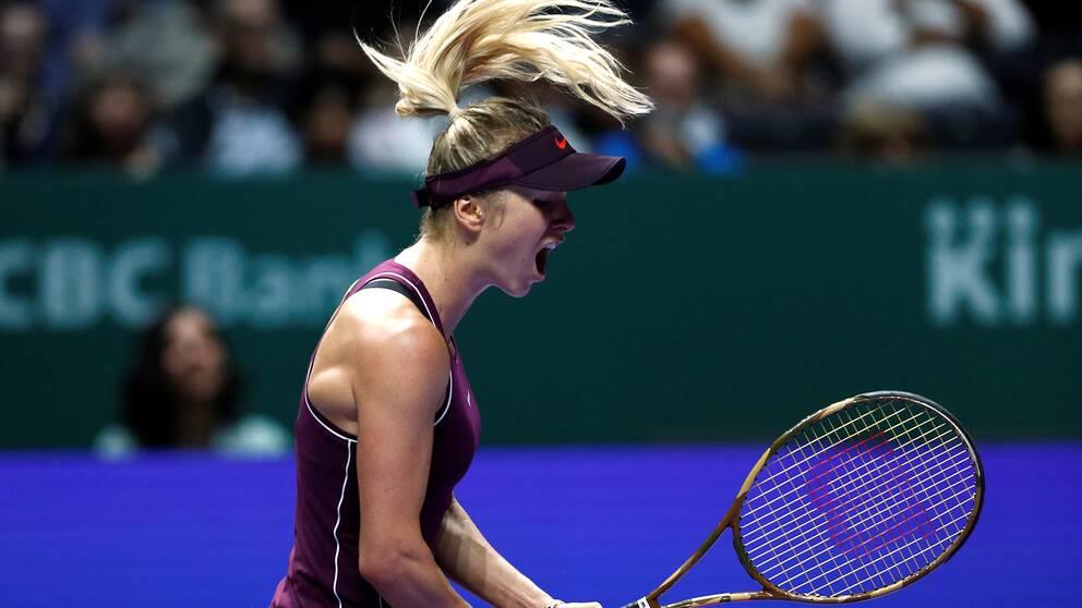 Wozniacki i tarar efter forsta titeln