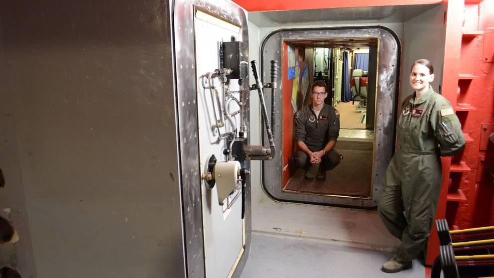 Den åtta ton tunga dörren