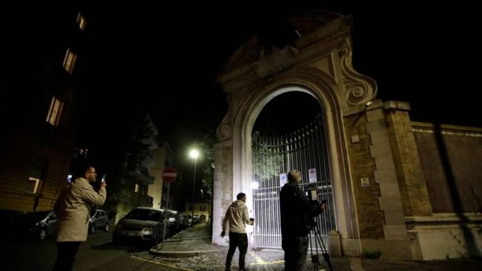 koppla in Rom