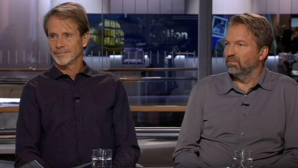 Jacob Hård och Johan Esk.
