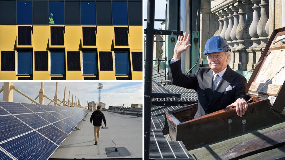 Sju oväntade platser där solen ger energi | SVT Nyheter