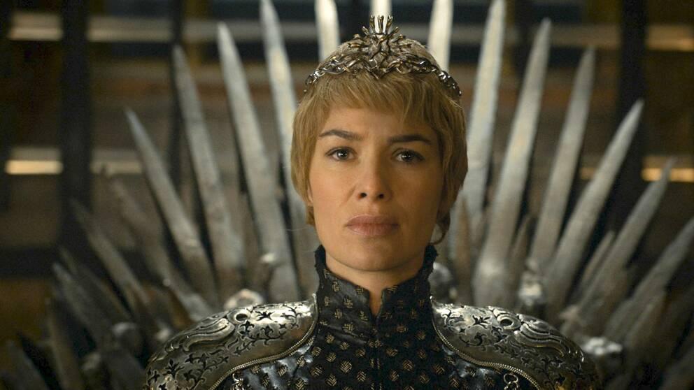 Lena Headey som Cersei Lannister i Game of Thrones.