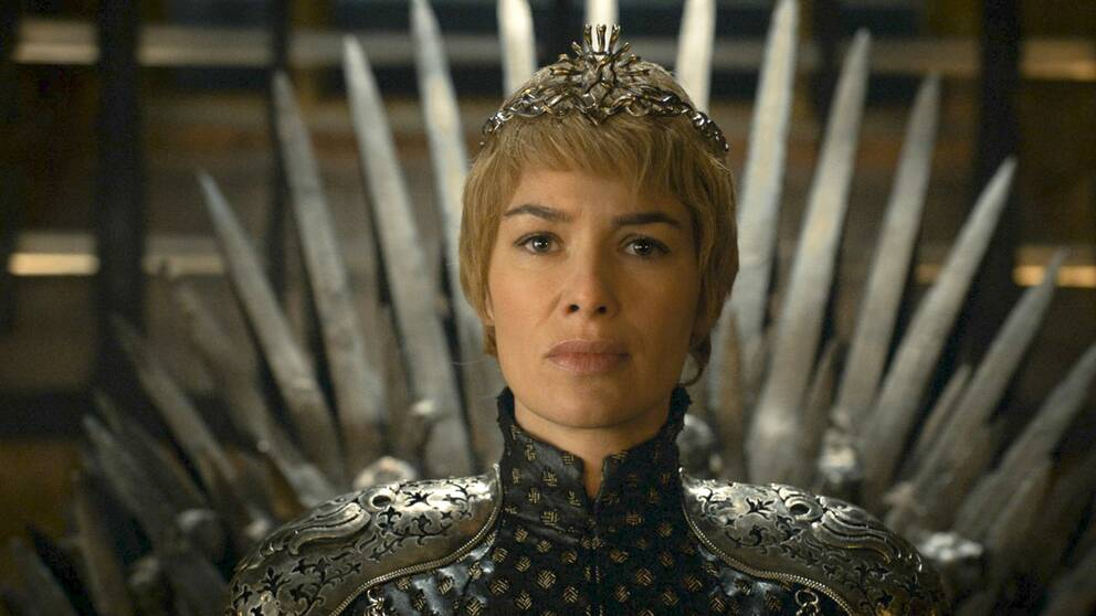 Lena Headey som Cersei Lannister i Game of Thrones.