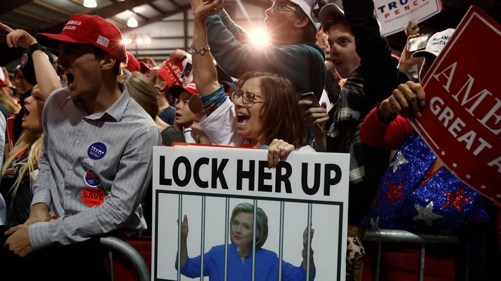 En arkivbild från Donald Trumps presidentkampanj.
