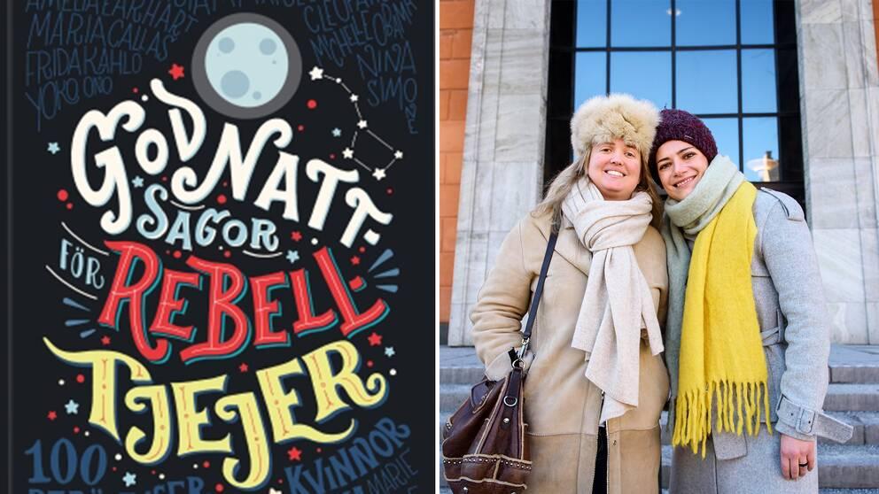 Elena Favilli och Francesca Cavallo, författarna bakom succéboken Godnattsagor för rebelltjejer.