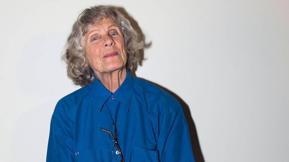 Artisten, musikpedagogen och textförfattaren Gullan Bornemark.