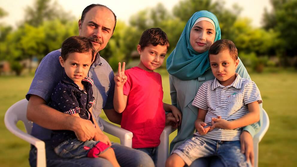 När Moustafa Janos familj inte fick anhöriginvandra till Sverige bestämde han sig får att återvända till norra Irak.