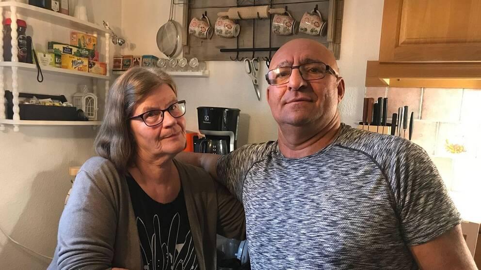 Gun-Britt och Marwan Fayad i Maland i kämpar för att få sitt hus inlöst