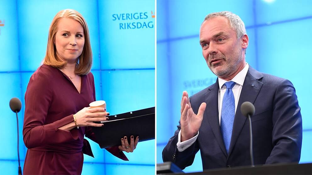 Annie Lööf och Jan Björklund
